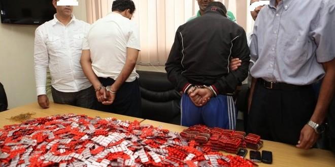 توقيف ثمانية أشخاص بكل من وجدة وبركان للاشتباه في تورطهم في ترويج الأقراص المهلوسة