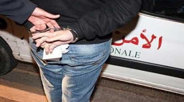أمن طنجة يوقف شخص متلبسا بترويج لفافات الكوكايين والهروين