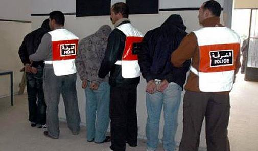 طنجة: إيقاق شبكة إجرامية متخصصة في السرقة والتزوير